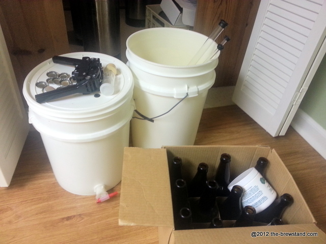 My HomeBrew Kit | The Brew Stand