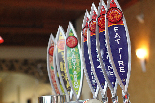 New Belgium Brewing on Tap!